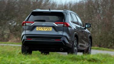 Toyota RAV4 plug-in hybrid - rear cornering