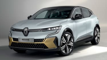 Renault Megane E-Tech Electric SUV - front studio