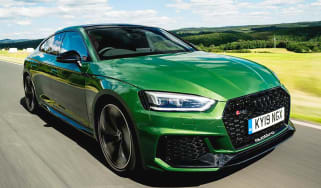 Audi RS5 Sportback - front tracking