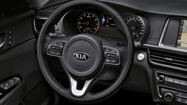 New Kia Optima 2015 interior