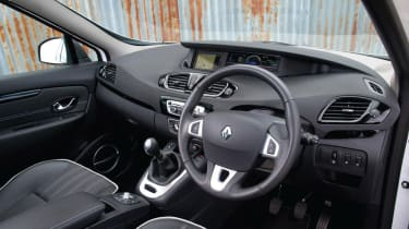 The Renault Scenic is available with 5 seats or a larger 'Grand Scenic' with 7 seats.