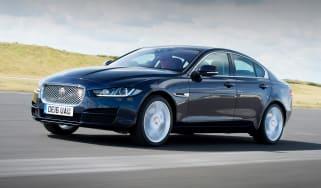 Jaguar XE AWD - front