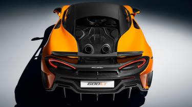 McLaren 600LT - rear above
