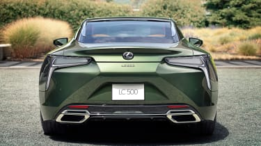 Lexus LC Coupe Limited Edition - full rear