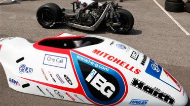 Isle of Man TT sidecar body shell