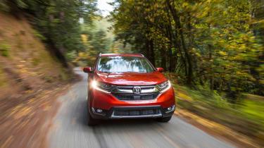 New Honda CR-V - front tracking