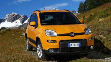 Fiat Panda Trekking front static