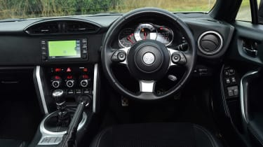 Toyota GT86 - dash