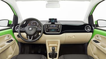 Skoda Citigo facelift 2017 - interior