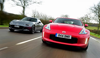 Nissan 370Z vs Mazda MX-5 BBR GTi Turbo - header