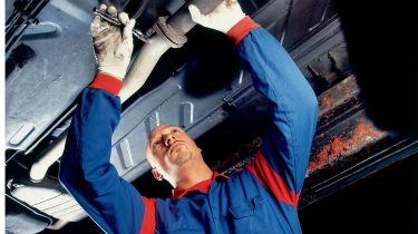 MOT test fail for DPF removal