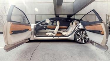 Nissan Vmotion 2.0 concept - doors open