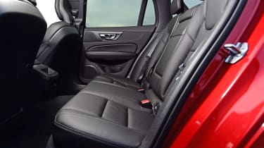Volvo V60 D3 - rear seats