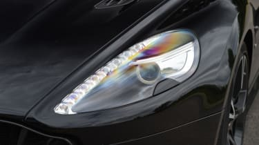 Aston Martin Vanquish S Volante - headlight