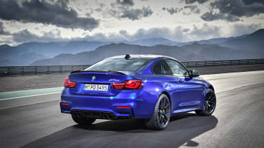 BMW M4 CS 2017 corner