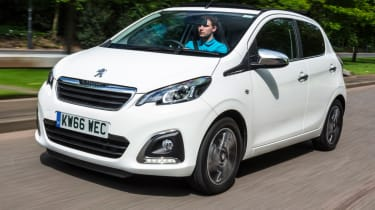 Best first cars for new drivers - Peugeot 108