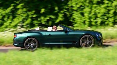 Bentley Continental GT Convertible - side
