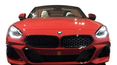 BMW Z4 Leaked front
