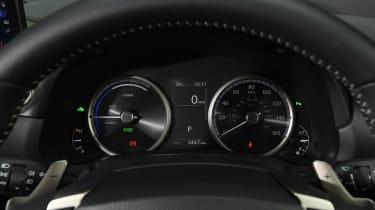 Used Lexus NX - dials