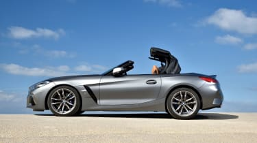 BMW Z4 - roof opening