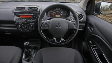 Mitsubishi Mirage - dash