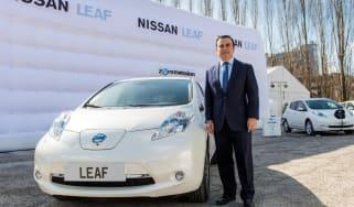 Ghosn LEAF