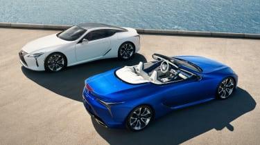 Lexus LC Convertible - range