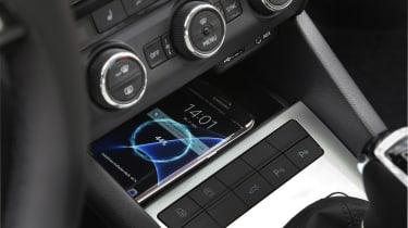 Skoda Octavia smartphone