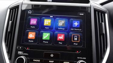 Subaru XV - apps