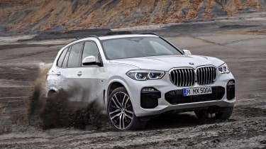 BMW X5 - front off-road