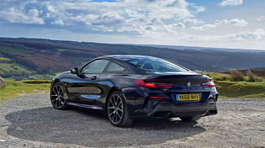 BMW 8 Series - rear static