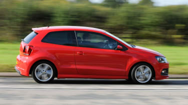 Volkswagen Polo R Line panning
