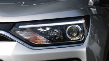 SsangYong Korando - headlight
