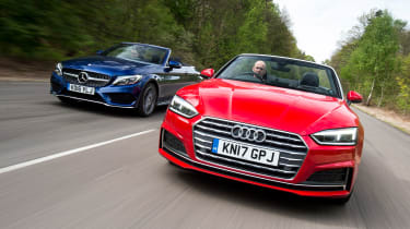 Audi A5 Cabriolet vs Mercedes C-Class Cabriolet - header