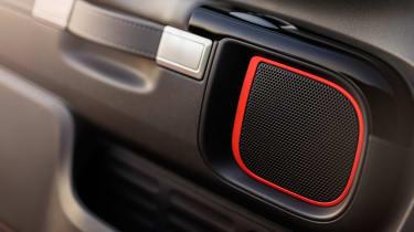 Citroen C4 Cactus Rip Curl Edition - speaker surround