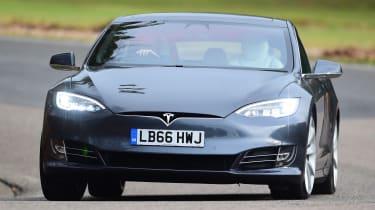 Tesla Model S - front