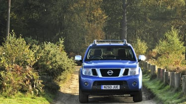 The navara is fantastic to drive off road due to a very good four-wheel drive system.