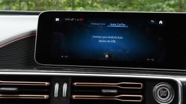 Mercedes EQC - screen