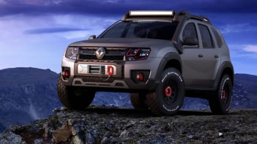 Duster extreme front