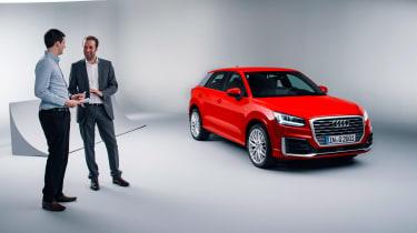 Audi Q2 studio Lawrence