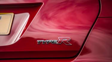 New Honda Civic Type R 2015 badge