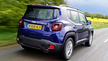 Jeep Renegade - rear