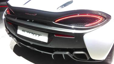McLaren 570GT 2016 - Geneva Stand Shot Rear Detail