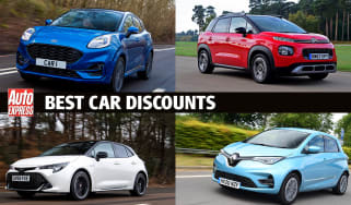 UK's biggest new car discounts - header