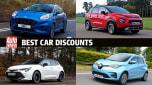 UK's biggest new car discounts - header