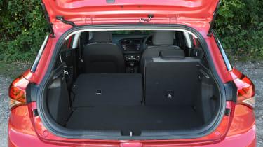 Hyundai i20 Turbo Edition - boot space