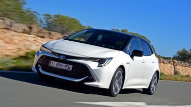 Toyota Corolla - front tracking