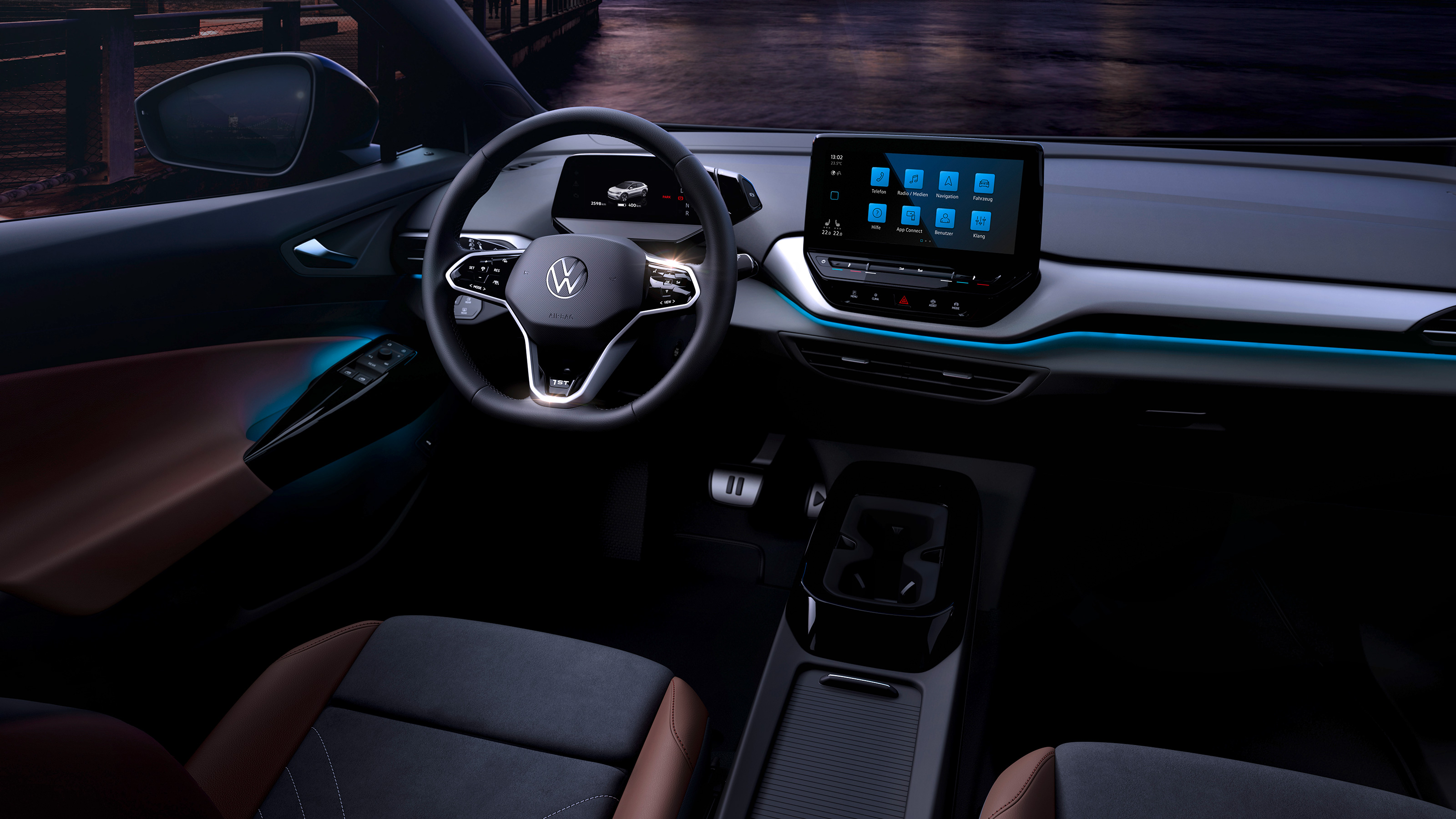 New 2021 Volkswagen ID.4 interior teased ahead of launch ...