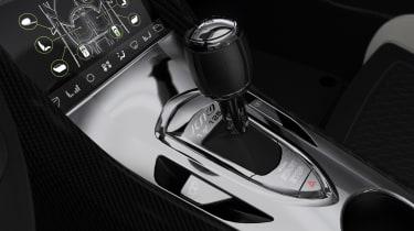 Koenigsegg Jesko gear shifter