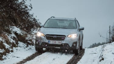 Subaru XV - full front off-road
